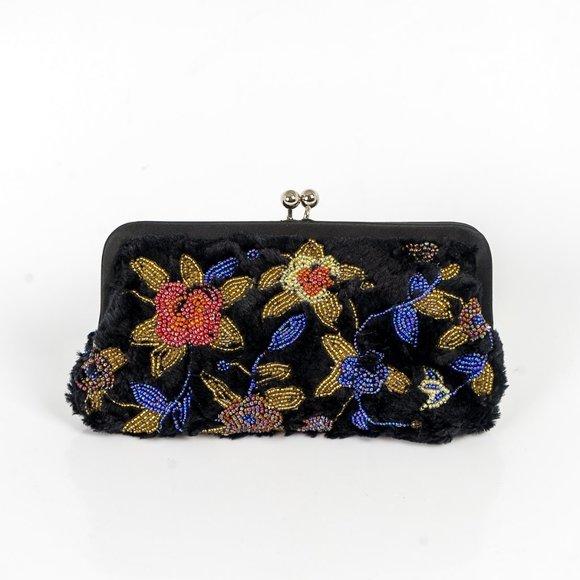Jeannie Lottie evening purse beaded